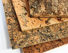 Cork tiles for wall and ceiling covering