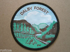 Dalby Forest Woven Cloth Patch Badge