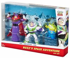 TOY STORY BUZZ'S SPACE ADVENTURE GIFT SET 3-PACK W/ ZURG & ALIEN DMK80 *NEW*