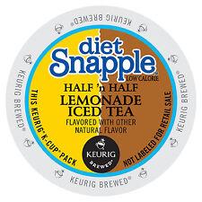 Snapple Diet Half 'n' Half Lemonade Iced Tea K-Cup  22/box