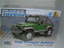 1/25 REVELL JEEP WRANGLER RUBICON OFF ROAD 4X4. PLASTIC KIT
