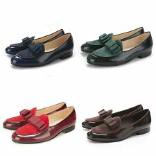 Mens formal patent leather velvet casual brown black red Leather slippers shoes