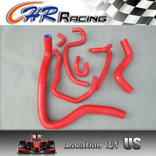 SILICONE HOSE FOR HONDA ACCORD SIR/T CF4 F20B 97-01/Torneo Euro-R CL1 00-02,RED