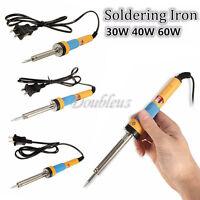 30W/40/60W 220V Welding Solder Soldering Iron Kit Electronic Tool