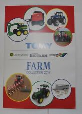 BRITAINS NEW CUSTOMER A5 2014 FARM TOYS CATALOGUE,tractors,trailers,combines