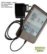 USB-Netz-Ladegerät f. eBook Reader Tolino 230 Volt USB Netztstecker Tolino shine