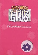 God's Word for Girls: New Imitation Leather - Purple / Pink New in Box