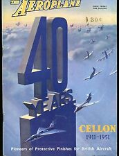 The Aeroplane Magazine September 21 1951 Cellon EX No ML 120816jhe