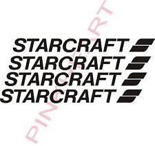 Starcraft Decals 4 SM RV sticker decal graphics trailer camper rv any color  USA