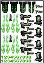 1/64, 1/87 - DECALS FOR HOT WHEELS, MATCHBOX, SLOT CAR: ENERGY RACE BRAND
