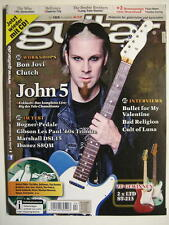GUITAR MAGAZINE 2013/4 NR. 155 - JOHN 5 THE WHO DEFTONES BAD RELIGION INCL. CD