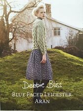 Debbie Bliss - Blue Faced Leicester Aran - Pattern Book - Dept Store Return