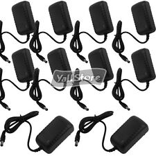 Lot10 AC to DC 12V 1000mA 1A Power Supply Adapter for Surveillance CCTV Camera
