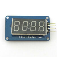 4 Bits Digital LED Tube Module 0.36 Inch Common Anode With Clock Display TM1637