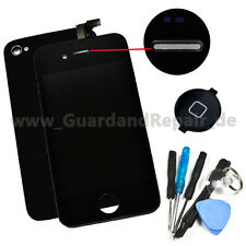 iPhone 4 LCD Display Touch Touchscreen + Backcover, Homebutton & Werkzeug #803+
