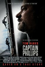 POSTER CAPTAIN PHILLIPS ATTACCO IN MARE APERTO TOM HANKS CATHERINE KEENE FILM #4