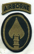US ARMY SPECIAL OPERATIONS COMMAND AIRBORNE New Multicam Patch