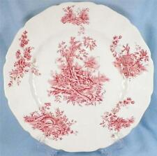 Pastorale Toile de Jouy Dinner Plate Johnson Brothers Pink Transferware NICE