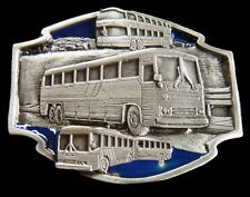 City School Tour Bus Drivers Belt Buckle Boucle De Ceinture Autobus