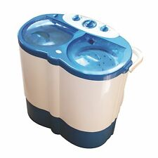 Twin Tub Portable Camping / Caravan 230 Volt Washing Machine 2.5kg Spin Capacity