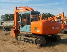 Hitachi EX100-3 Excavator / Digger Workshop Manual & Parts Manual