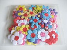 100 Mixed Mulberry Paper Daisy Flowers Craft Scrapbook Wedding Card Handmade #11