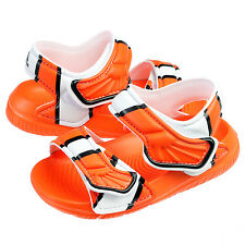 Adidas Disney Nemo Akwah 9 Infant AF3921 Orange Toddler Sandals Baby Size 8