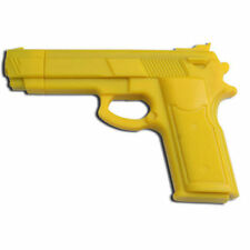 "7"" YELLOW RUBBER TRAINING GUN Police Dummy Non Firing Real Look and Feel"
