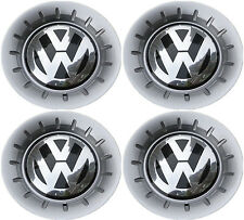 New 4 Pieces Wheel Center Hub Cap Badge 6K0601149L FOR VW 2002-2008 Polo 9N MK4