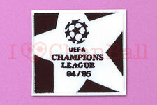 UEFA Champions League 1994-1995 White Sleeve Embroidery Soccer Patch / Badge