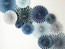 paper pinwheel fan decorations hanging backdrop kit ONLY ONE AVAILABLE