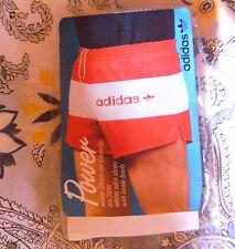 TRUE/original Vintage 70/80er adidas Satin Glanzhose Sporthose D8 Shorts NEU RAR