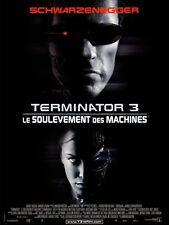 Affiche 120x160cm TERMINATOR 3 /LE SOULÈVEMENT DES … 2003 Schwarzenegger NEUVE