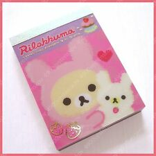 San x relax bear rilakkuma strawberry cake mini memo paper 100 sheets