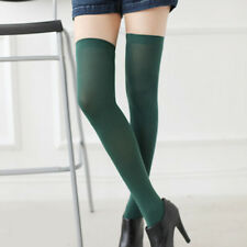 Ladies Over The Knee Thigh High Womens Stretch Girls Nylon Socks thigh Stockings
