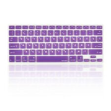 "Russian / English PURPLE Silicone Keyboard Cover for Macbook Pro 13"" 15"" 17"""
