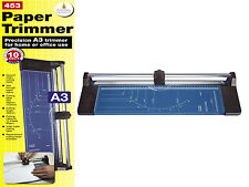 A3 A4 A5 Precision Rotary Paper Card Trimmer Guillotine Photo Cutter Arts Crafts