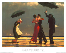 The Singing Butler Art Print by Jack Vettriano - 19.5x16
