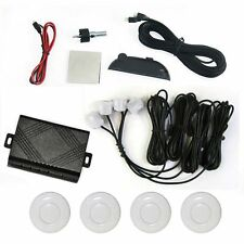 White Car Reverse Parking 4 Sensor Security Buzzer Led Hyundai Eon