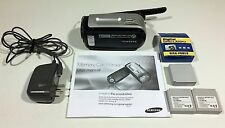 Samsung Sc-mx10 Memory Digital Camcorder 34X optical Zoom silver