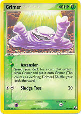 Grimer Common Pokemon Card EX-Legend Maker 54/92