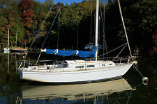 NO RESERVE! 1981 35' Pearson Classic Sailboat Best Value Boat for Fall Sailing!