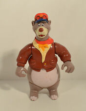 "RARE 1991 Baloo 4.75"" Playmates Action Figure Disney Talespin Tailspin"