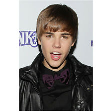 Justin Bieber Never Say Never Close Up Looking at Camera 8 x 10 Inch Photo