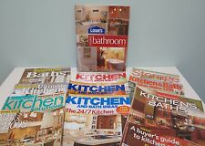 Lot of 10 Kitchen & Bath Design Books & Magazines Southern Living BH&G + others