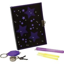SECRET DIARY SET - KIDS FUN TOP SECRET DIARY SET WITH UV TORCH & INVISIBLE PENS!
