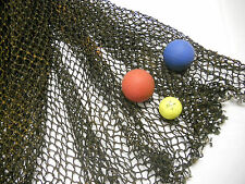 8'X10' BRN NAUTICAL NET DECOR-PARTY-PHOTO-MARITIME, RECYCLED FISH NET #3327-8