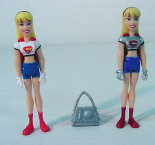 SUPERGIRL 2 VARIANTS~  Justice League Unlimited ~JLU~Animated~Mattel~DC COMICS
