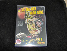 FLYING DISC MAN FROM MARS CLIFFHANGER SERIAL 12 CHAPTERS 2 DVDS