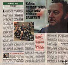 Coupure de presse Clipping 1991 Coluche Tchao Pantin  (1 page 1/2)